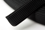 N4331.B Uncovered Polyester Boning - 40m x 12mm: Black